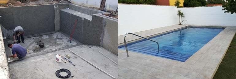 Construcción de piscinas Chiclana – Construcciones y Reformas Flores