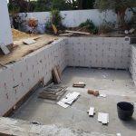 Construcción de piscina en Chiclana (Cádiz)