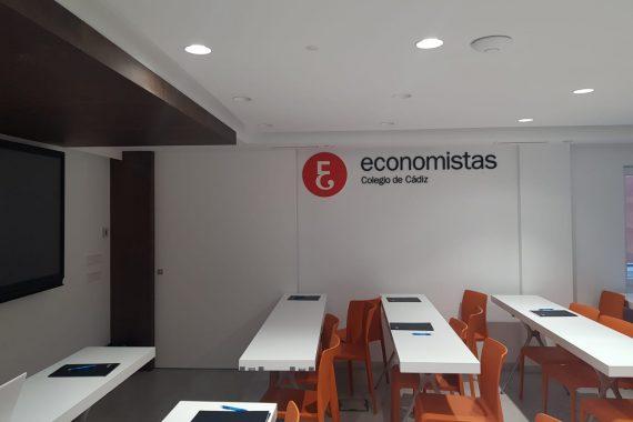 Reforma oficinas Colegio Profesional de Economistas de Cádiz (resultado de las obras de reforma)