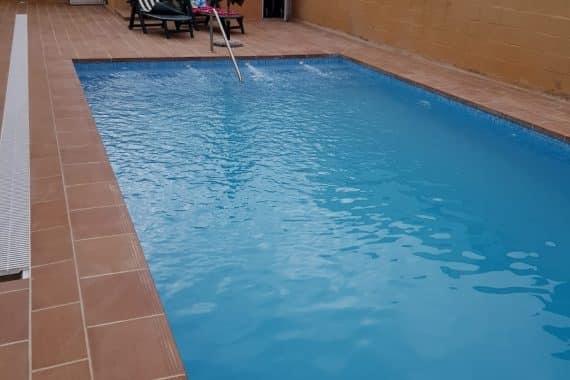 Construcción de piscina en zona de Los Gallos, Chiclana (Cádiz)